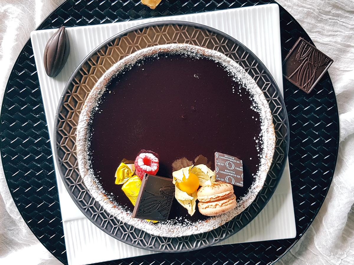 tarte chocoal caramel